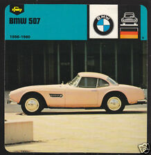 1956-1960 BMW 507 Car Picture Photo Fact CARD 57 58 59