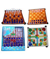 13 in 1 Magnetic Ludo Chess Snacks and Ladders Set Board Game