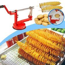 Taglia patate e verdura a spirale taglia affetta ortaggi manuale in acciaio inox