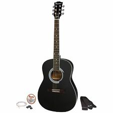 "Gibson Maestro 38""Parlor Size Acoustic Guitar Ebony with Accessories {MA38EBCH1}"