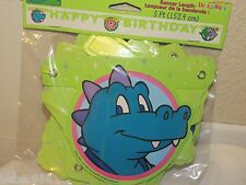 NEW DRAGON TALES HAPPY BIRTHDAY BANNER PARTY FAVORS SUPPLIES