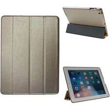 Smart Cover per Apple iPad 2/3/4 Pelle Custodia Borsa Protezione Tablet oro