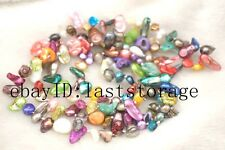 """freshwater pearl shell multicolor baroque necklace 42"""" wholesale bead nature"""