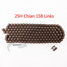 25H 158L Chain with Spare Master Link For 47cc 49cc Mini Dirt Pocket Bike Moto