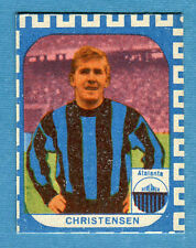 CALCIATORI NANNINA 1961-62 -Figurina-Sticker - CHRISTENSEN - ATALANTA -New