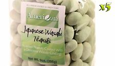 45oz Gourmet Style Bags of Delicious Japanese Wasabi Peanuts [2 5/8 lbs.]