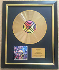 Coldplay / Ltd Edition CD Gold Disc / Record / Mylo Xyloto