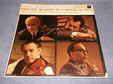 BUDAPEST STRING QUARTET RAVEL & DEBUSSY / 6EYE COLUMBIA MASTERWORKS Ml 5245 LP