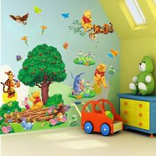 Large Winnie The Pooh Colorful Wall Sticker PVC Art Vinyl Decals Room Home Decor