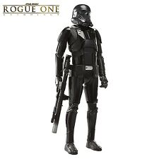 Deluxe Death Trooper 1:2 Replica Star Wars - Rogue One Statue/ Figur Big-Sized