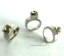 10pcs engagement ring Floating charms For Glass living memory Locket