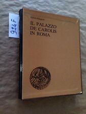 Alfredo GIUGGIOLI  -  IL PALAZZO DE CAROLIS IN ROMA  -  BANCO DI ROMA  -  1980