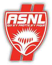 "AS Nancy Lorraine ASNL FC France Football Soccer Car Bumper Sticker Decal 4""X5"""
