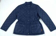 COACH Quilted Hacking Womens X-Small F84993 $368 Navy Jacket