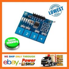 E9 4 Way Channel Digital Capacitive Touch Sensor Switch Module TTP224
