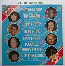 ORIGINAL ARTIST ORIGINAL SONGS - Easy Listening Collection - Ex LP Record MFP