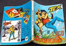 """Tex n.54 prima edizione con £.200 """"MG e continua"""" edizioni Araldo di Aprile 1965"""