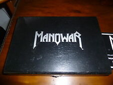 Manowar ‎/ Warriors Of The World ORG Nuclear Blast BOX Stamp Inkpad Metalplate