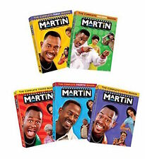 Martin Complete Series Seasons 1-5 Collection DVD Lot Box Set TV Show Box Disc R