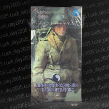 "DID WWII US 29th Infantry Division Radio Operator ""Paul"" 1/6 Christmas Edition"