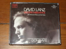 DAVID LANZ Skyline Firedance (The Orchestral Works and the Solo Works) 2 CD SET