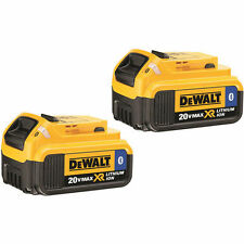 DEWALT 20V MAX 4.0 Ah Lithium-Ion Bluetooth Battery (2-Pack) DCB204BT-2 New