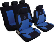 CHEVROLET MATIZ Universal Precision Sports Style Car Seat Covers BLUE