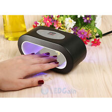 9W LED Nail Dryer Lamp Gel Nail Curing Light Polish Spa Kit Timer 30s 60s 90s