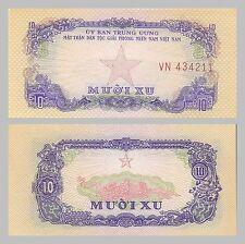 Süd-Vietnam / South Vietnam 10 Xu 1963 pR1 vzgl.