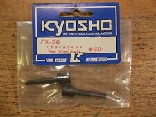 FX-30 Rear Wheel Shaft (Axles) - Kyosho 1:8 Scale F1 Series EP & GP Versions