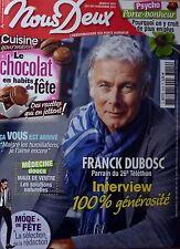 Mag 2012: FRANCK DUBOSC_DELPHINE WESPISER ( Miss FRANCE 2012)_Romy SCHNEIDER