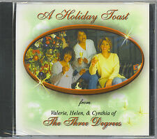 THE THREE DEGREES - A HOLIDAY TOAST - NEW SEALED CD