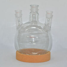 BoRoSilicate Two Thousand 2000 ML Scientific Glass Round Bottom Flask