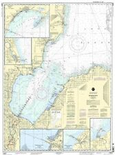 Saginaw Bay,Port Austin,Caseville,Entrance to Ausable River,Sebewaing and Tawas