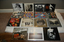 U2 (21 CD LOT) INCLUDES DELUXE EDITIONS, DVD, 2 CD SETS. 21 TOTAL DISCS! AWESOME