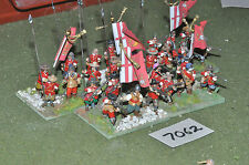 25mm ECW english civil war kings life guard regiment 30 figures (7062) painted m