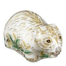 New Royal Crown Derby 1st Quality Wombat Paperweight with Gift Box