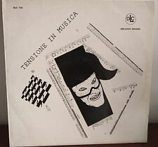 Library=Fas Group-Tensione In Musica Lp EX+ 1990 Horror Aldo Sferra S. Ravizza