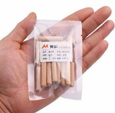 Wooden Dowel Pins Fittings Wooden Peg 6mm Wood Wedge 20Pc Furniture New MKWJ0025