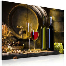 HD Canvas Prints Wall Art Paintings Picture Wine Grain Grape Poster Unframed