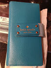 KATE SPADE Stacy Wellesley Leather Womens Wallet neon turquoise NWT WLRU1151-5
