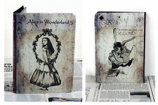 For New iPad Mini 1 2 3 Vintage Fairy Tale Alice In Wonderland Design Case Cover