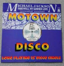 Michael Jackson - Farewell My Summer Love - Original UK 12'' - MOTOWN Soul