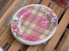 Katie Alice Highland Fling Tartan Floral Shabby Chic Side Plate