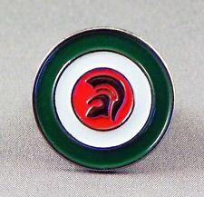 Metal Enamel Pin Badge Brooch MOD Italian Trojan War Helmet Target Symbol Round