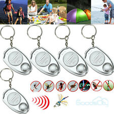 5x Ultrasonic Mosquito Repeller Pest Bug Repellent Insect Keychain Control Anti