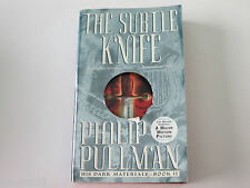 PHILIP PULLMAN - THE SUBTLE KNIFE - HIS DARK MATERIALS #2 - USED PAPERBACK