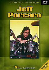 Jeff Porcaro Drums Pedal Learn to Play Toto Latin Groove Drummer Music DVD