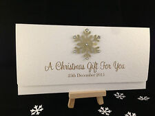 Handmade Christmas Money / Gift Voucher Wallet