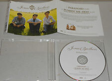 Single CD Jonas Brothers - Paranoid  2009  2.Tracks  111